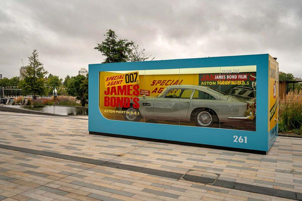 Giant Corgi Box with Aston Martin DB5