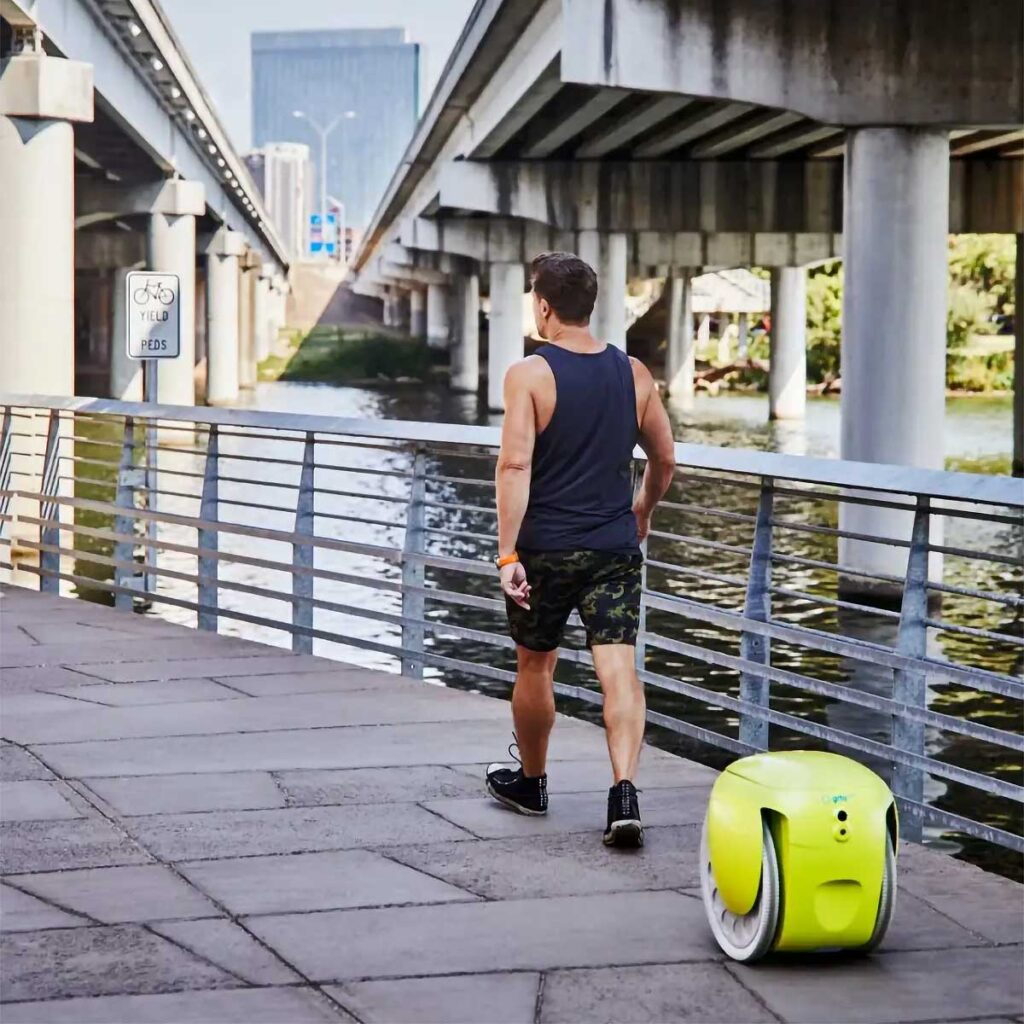 Gitamini Cargo-carrying Following Robot by Piaggio