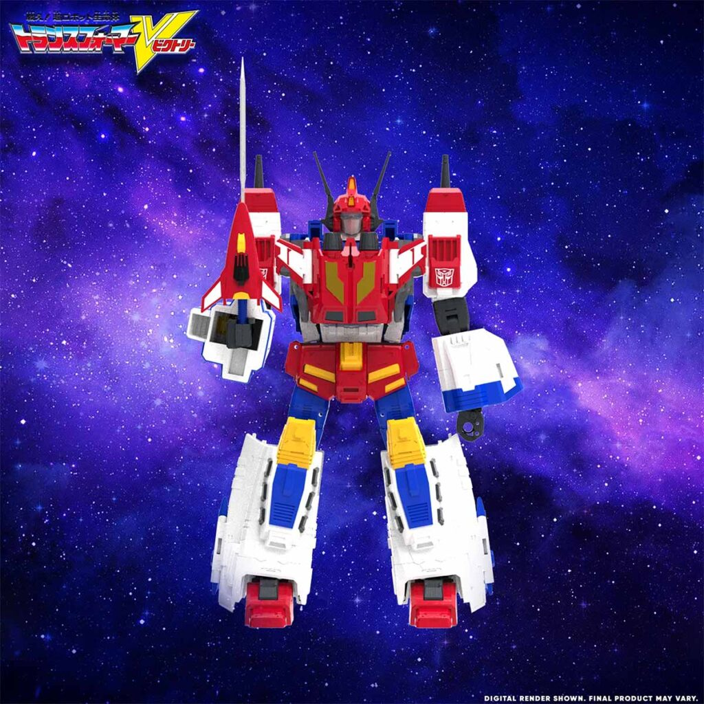 Hasbro Transformers Victory Saber Action Figure in Colors