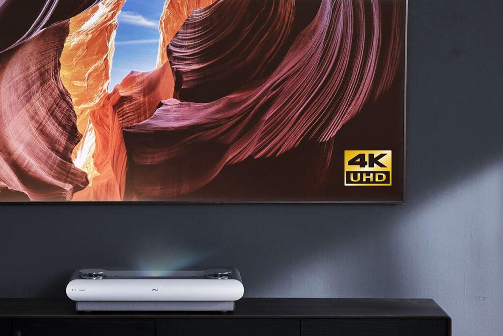 JMGO U2 Series 4K Tri-Color Laser TV Projector