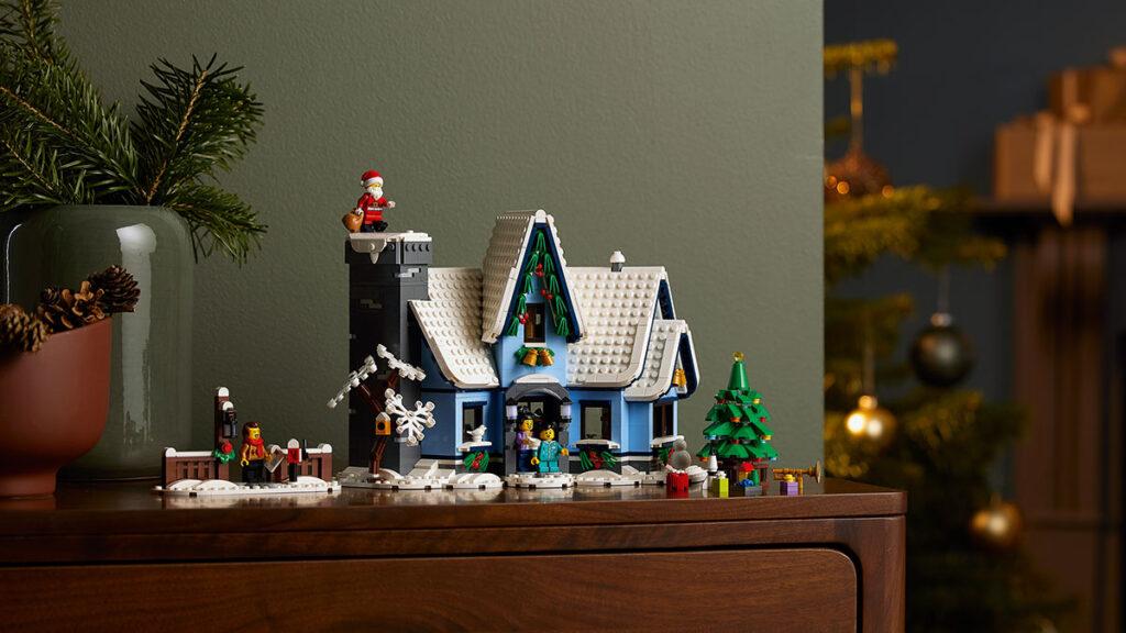 LEGO 10293 Santa's Visit Set