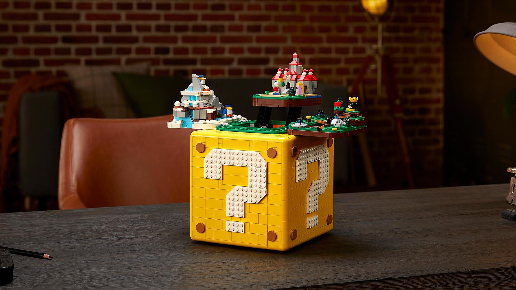 LEGO 71395 Super Mario 64 Question Mark Block Set