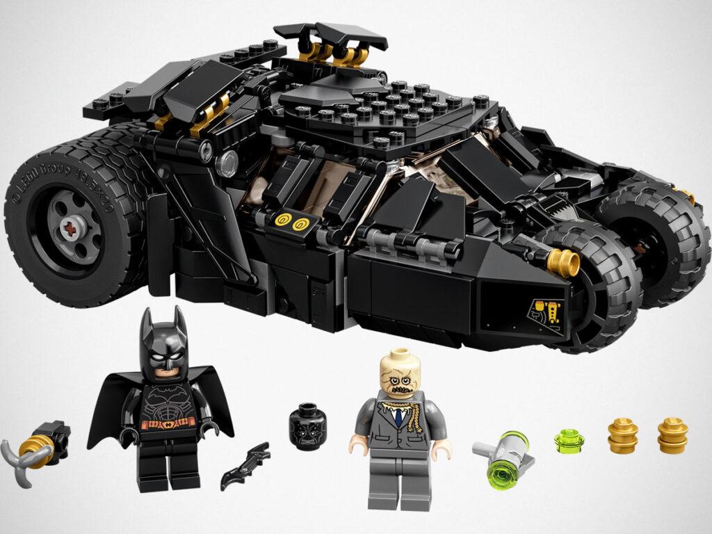 LEGO 76239 DC Batman Batmobile Tumbler Scarecrow Showdown Set