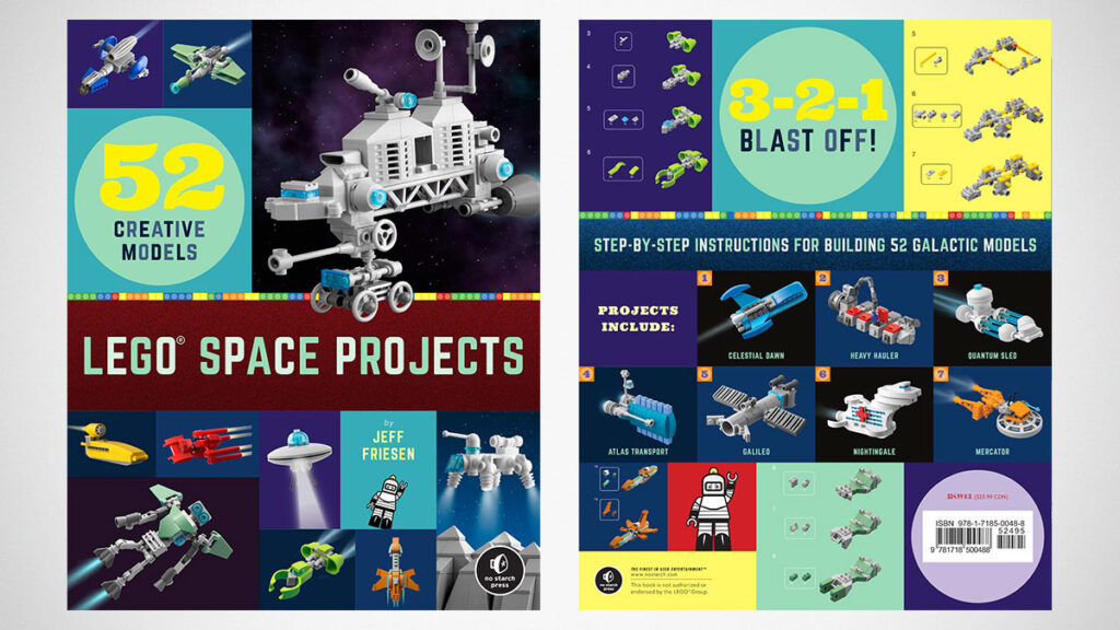 LEGO Space Projects 52 Creative Models by Jeff Friesen