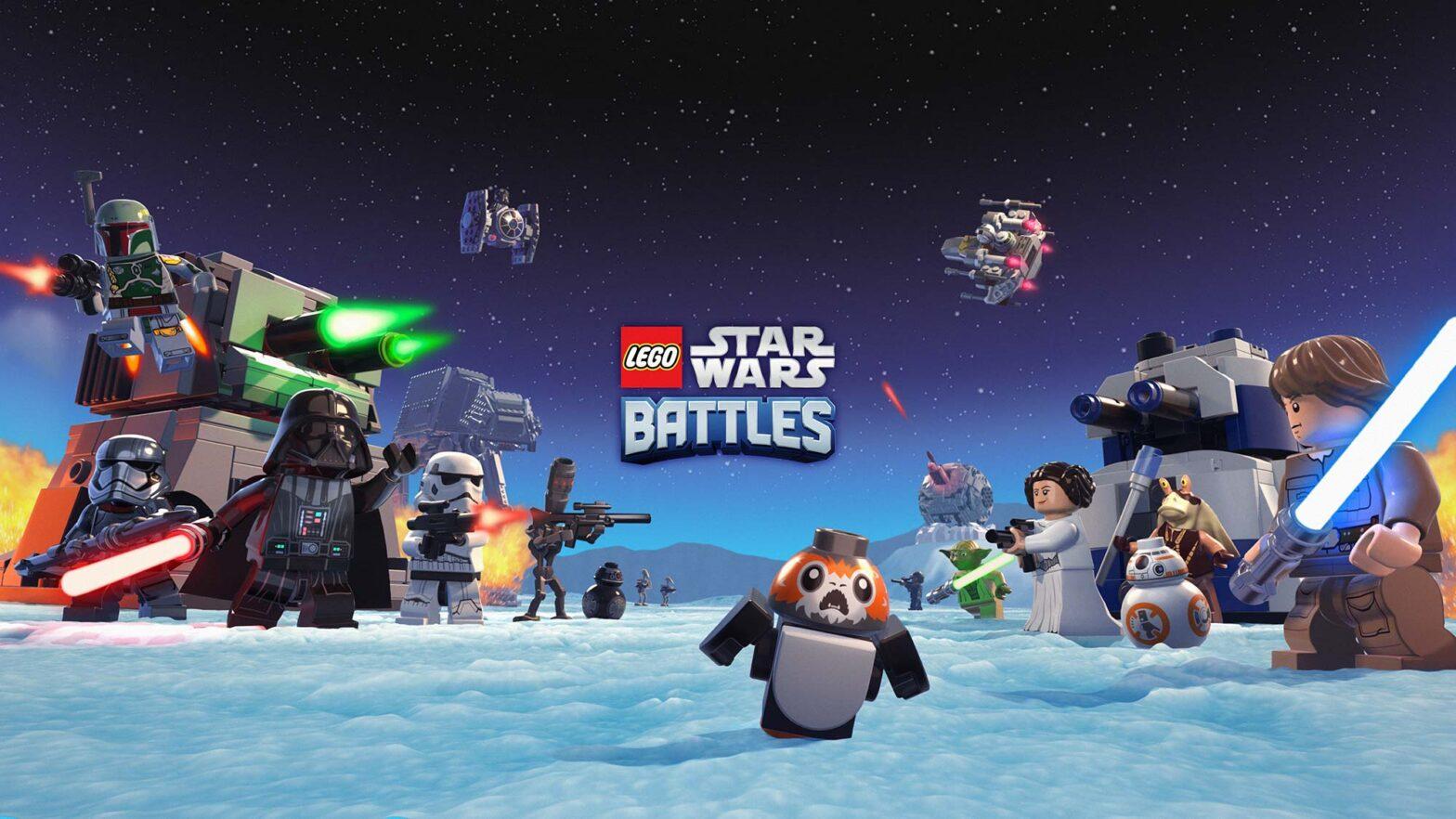 LEGO Star Wars Battles Video Game on Apple Arcade