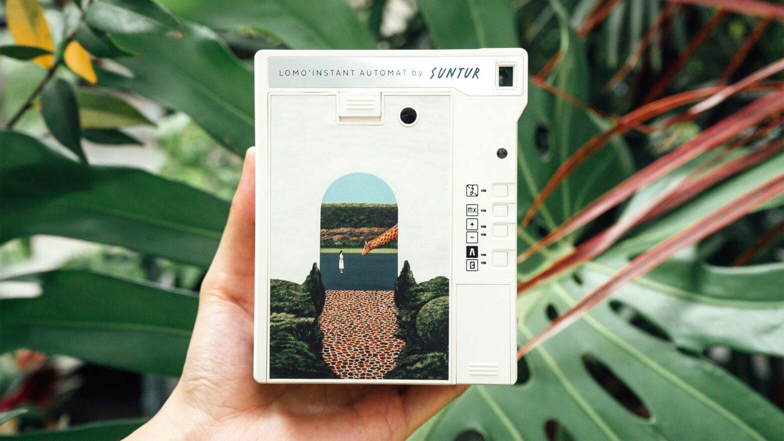 Lomo'Instant Automat Camera and Lenses Suntur Edition