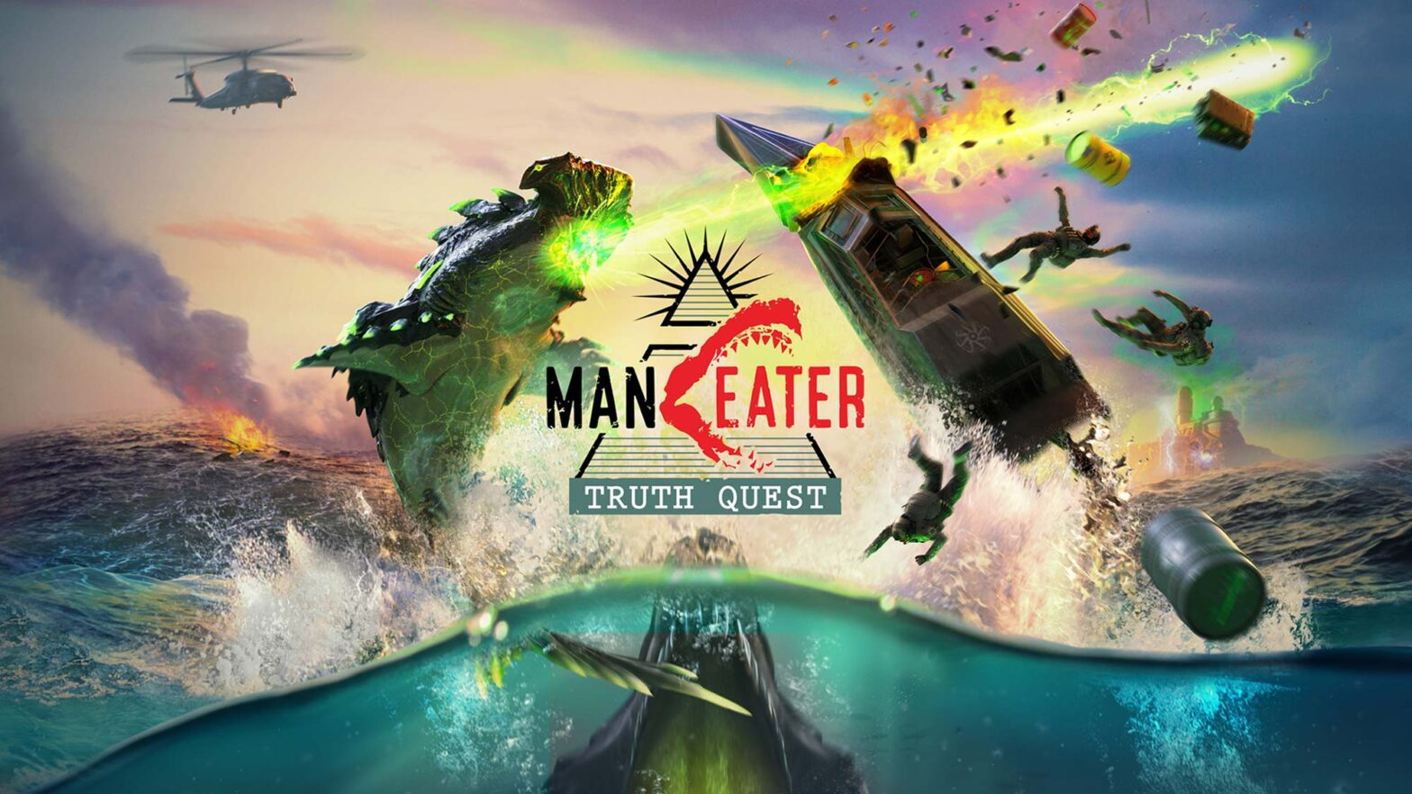 Maneater: Truth Quest Downloadable Content for Maneater