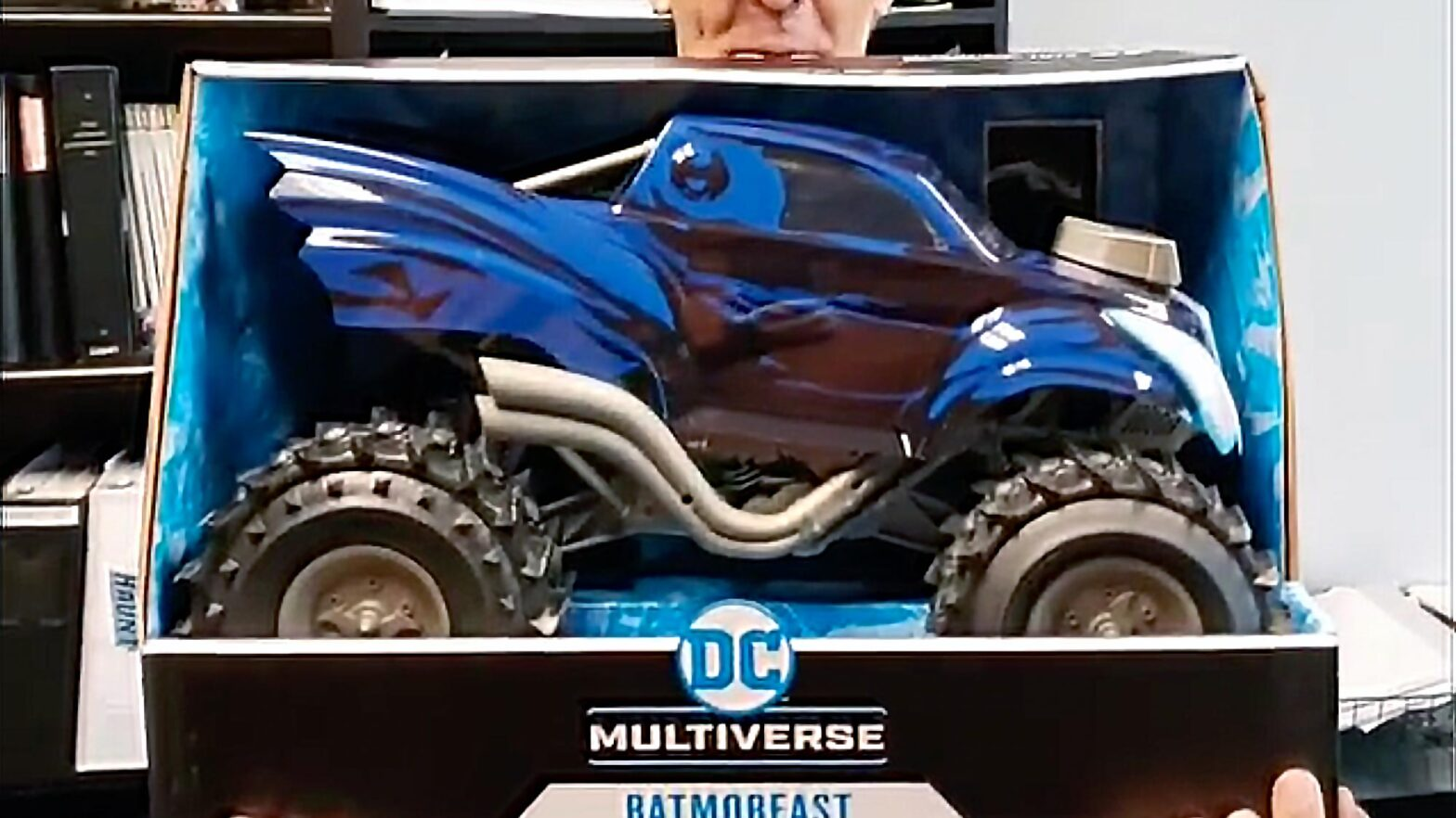 "McFarlane DC Multiverse 7"" Scale Batmobeast Toy"