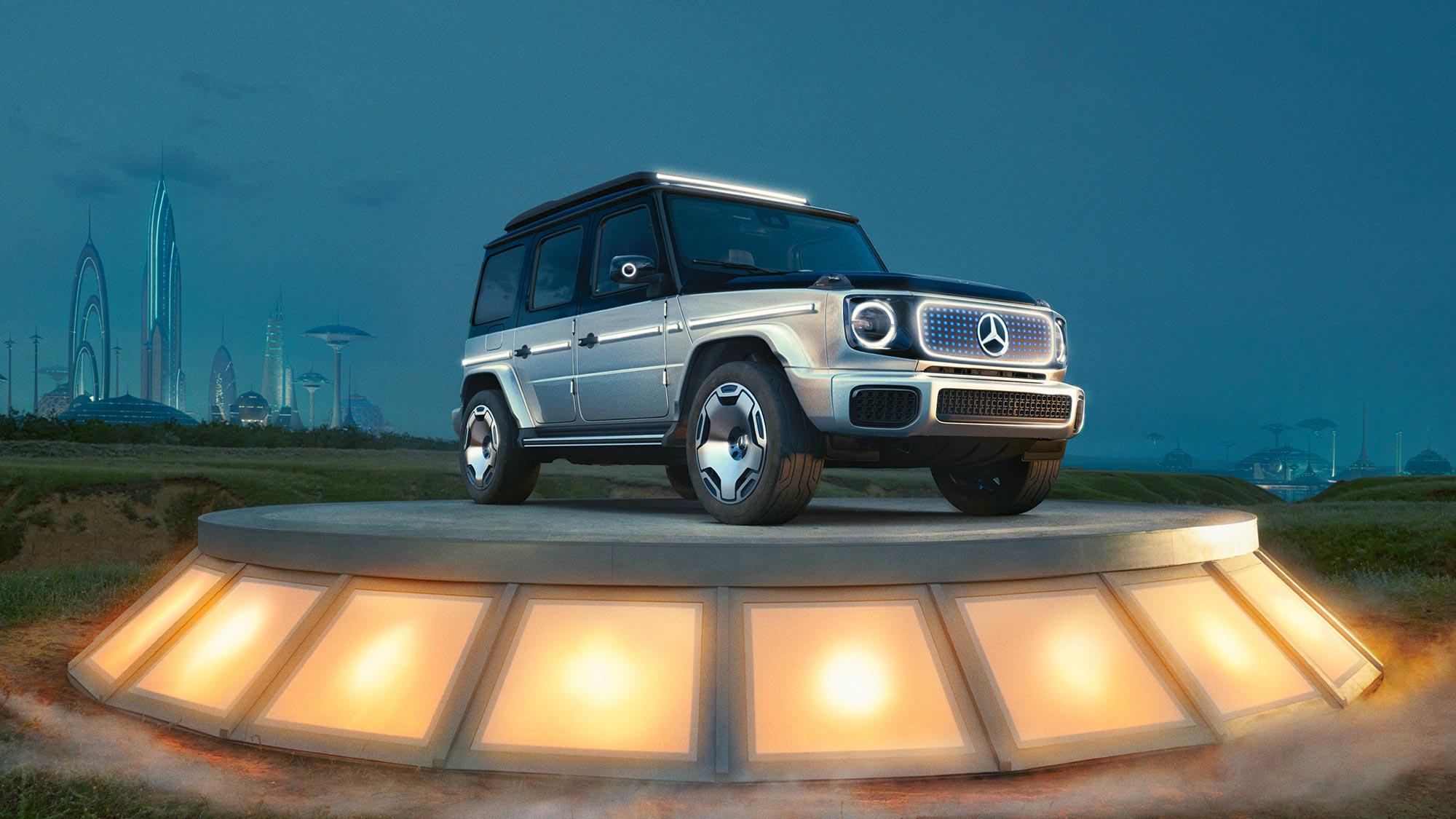 Mercedes-Benz Concept EQG SUV