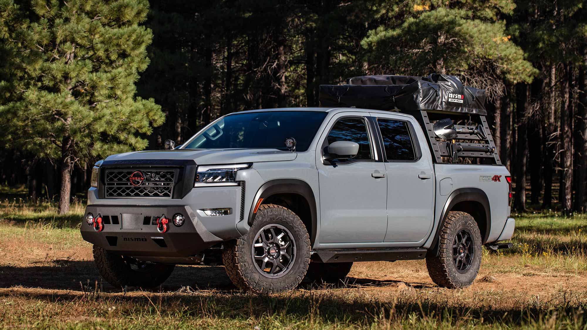 Nissan NISMO Off-road Parts for 2022 Nissan Frontier