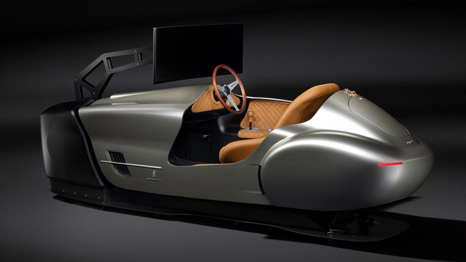 Pininfarina Leggenda eClassic Driving Simulator