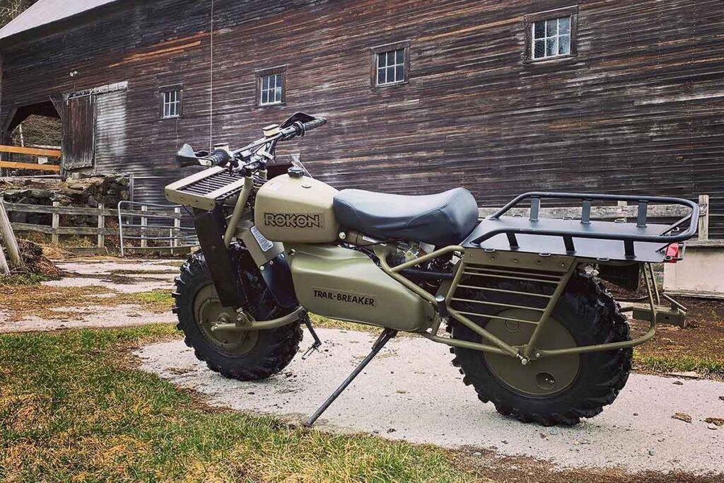 Rokon 2x2 Off-road Motorcycles