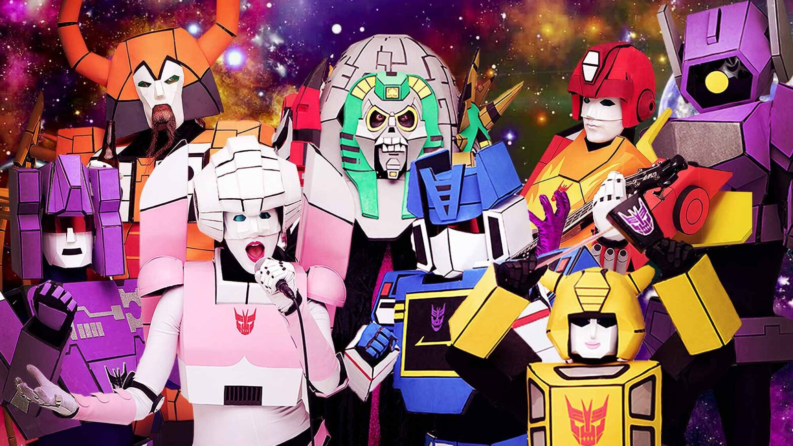 The Cybertronic Spree Transformers Rock Band