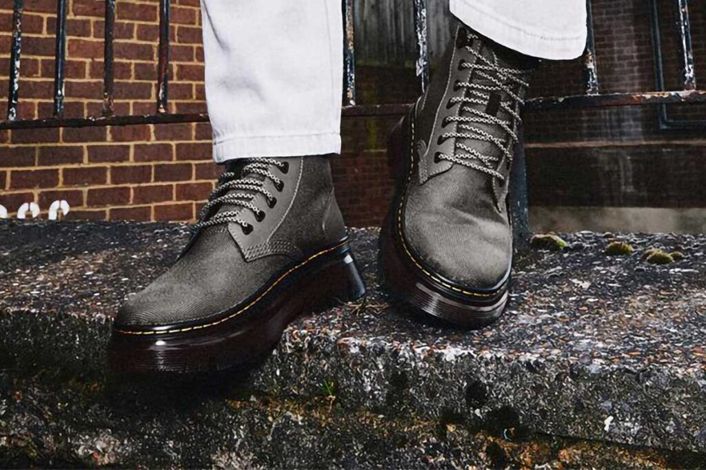 The Tarik Utility Boots by Dr. Martens