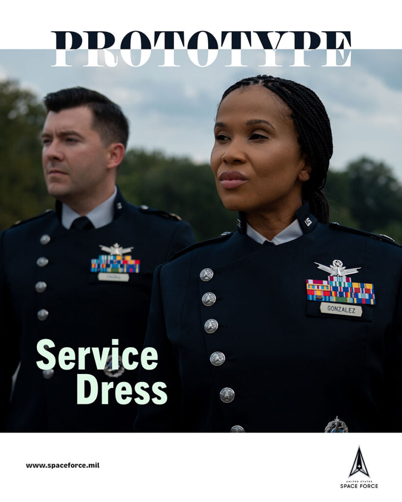 U.S. Space Force Guardian Service Dress