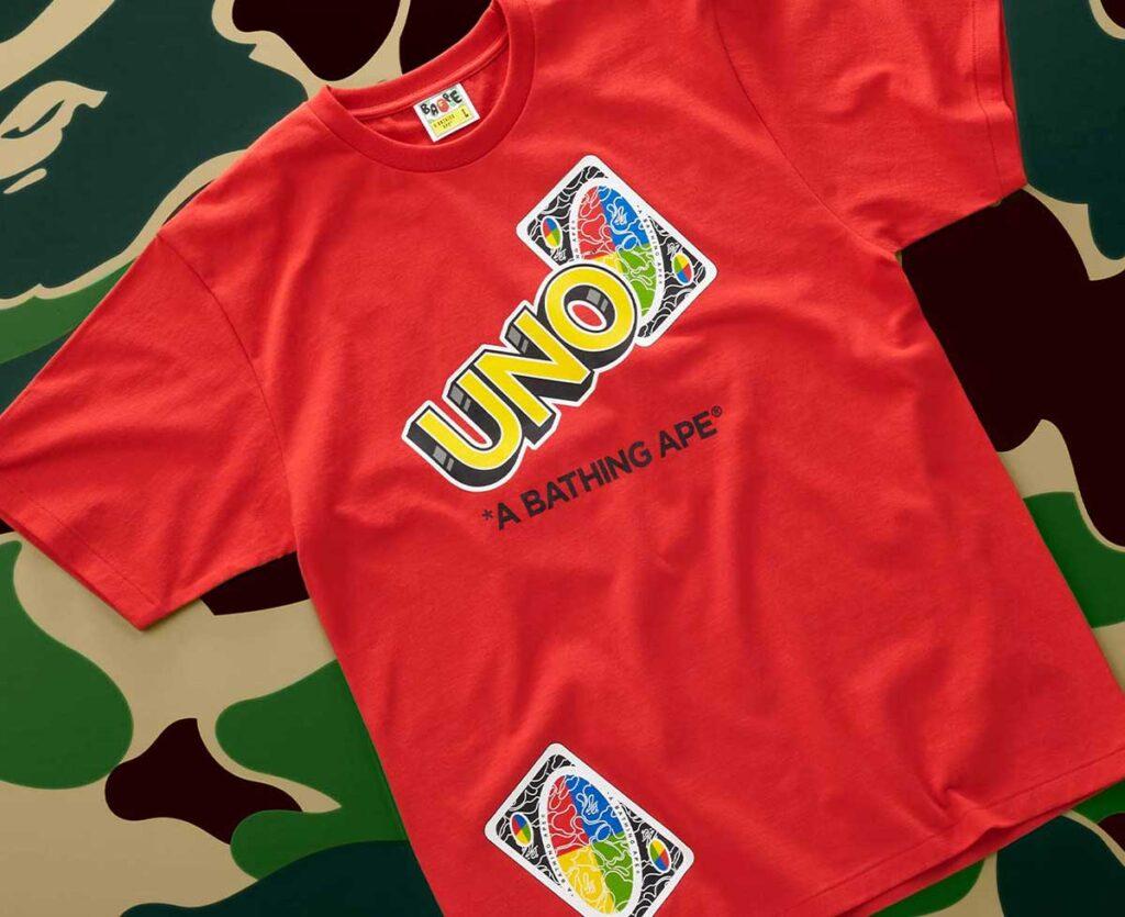 UNO x A Bathing Ape T-Shirt