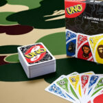 Mattel Teamed Up With BAPE For Special Deck Of UNO Cards And Tees