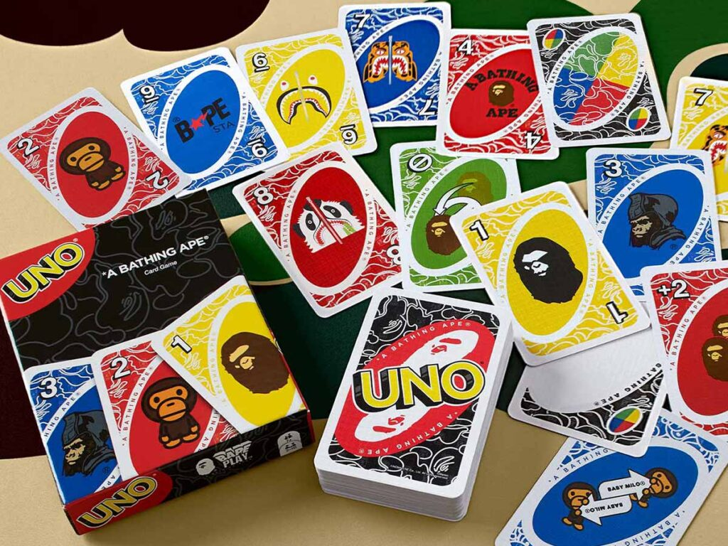 UNO x A Bathing Ape UNO Deck of Cards