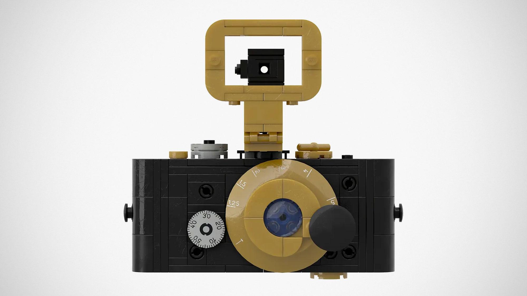 Vintage Camera UR-Leica LEGO MOC