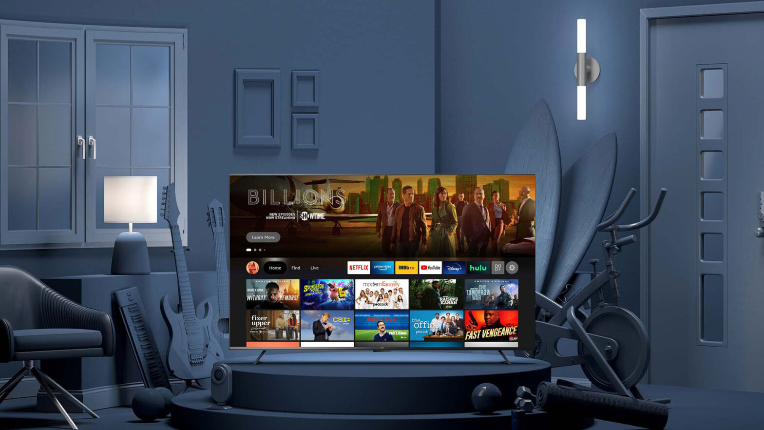 Amazon Fire TV Omni and Fire TV 4-Series TVs
