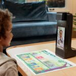 Amazon Glow Is A High-tech Projection Device With Sensing Technology That Will Make Kids' Learning Fun