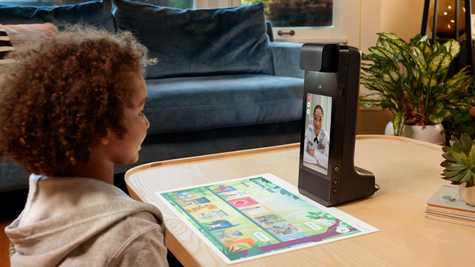 Amazon Glow Interactive Projector with Video Call
