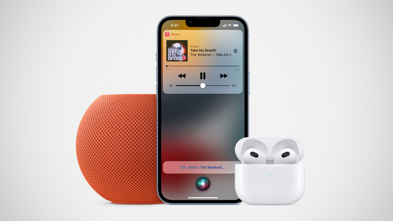 Apple HomePod mini New Colors and 2021 Apple AirPods
