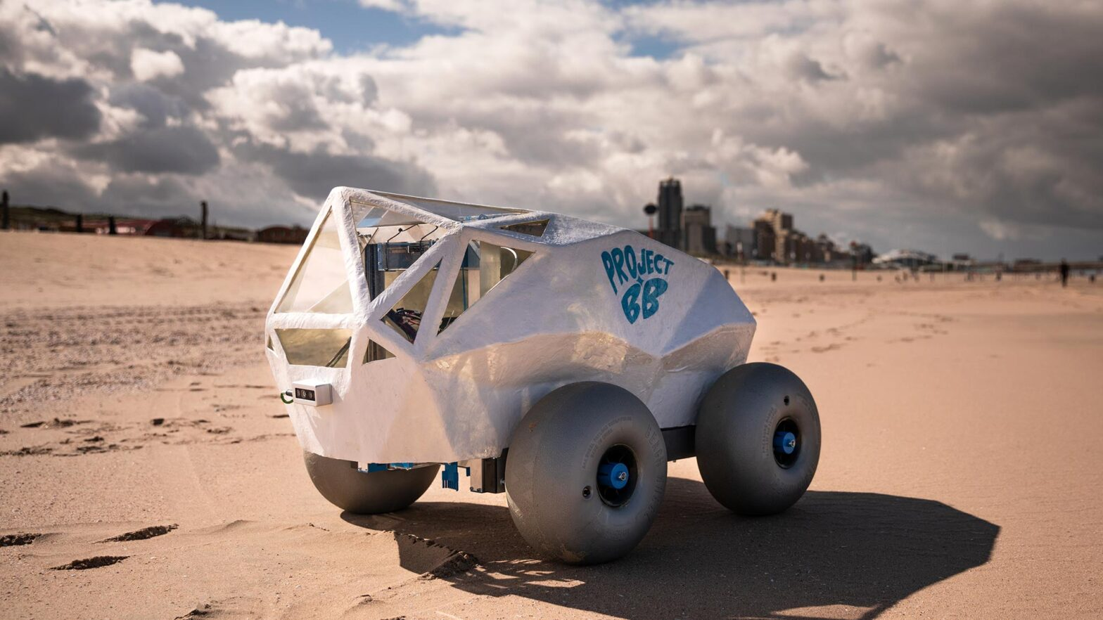 BeachBot Cigarette Butts Picking Robot