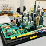 Someone Is Proposing A LEGO Ideas Set Of A Circuit Board City And I Think It's Brilliant