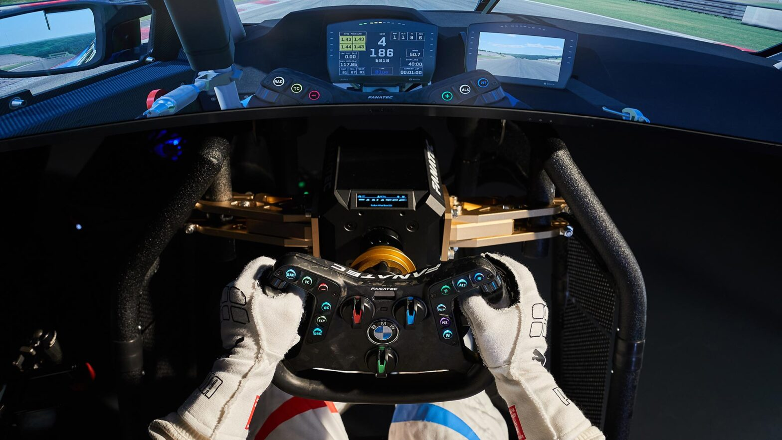 Fanatec Steering Wheel for BMW M4 GT3