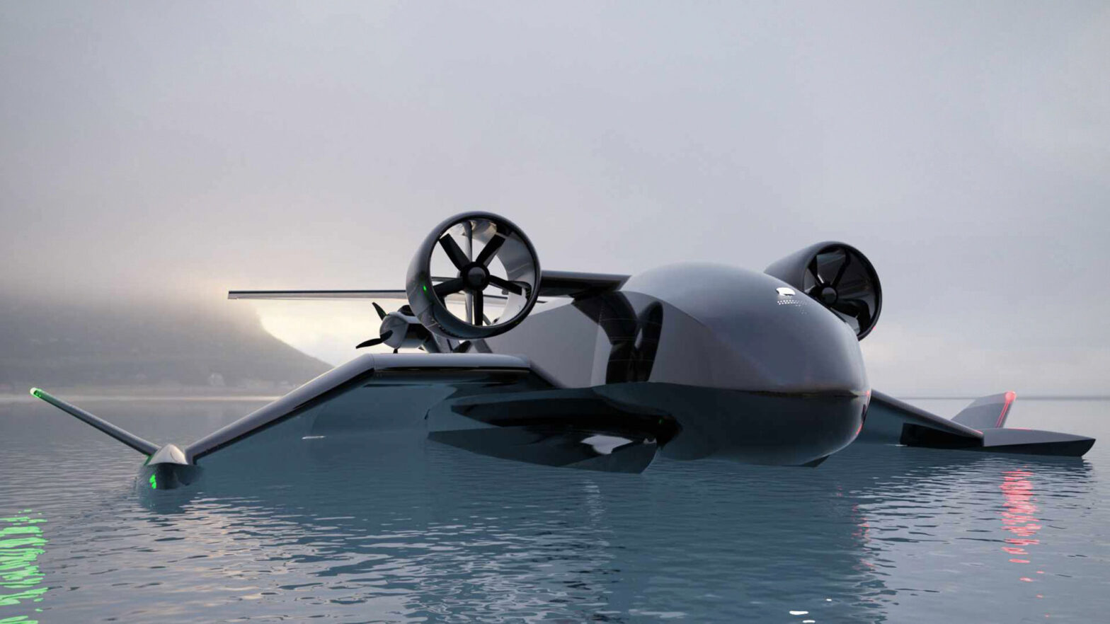 Flying Ship Company Unmanned Ground Effect Cargo Vehicle