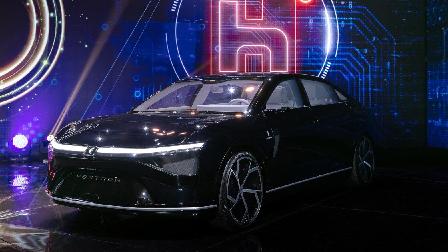 Foxtron Electric Vehicles by Foxconn Unveiled