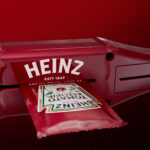 Heinz Packet Sauce Roller: 100% Extraction Of Sauce From The Packet