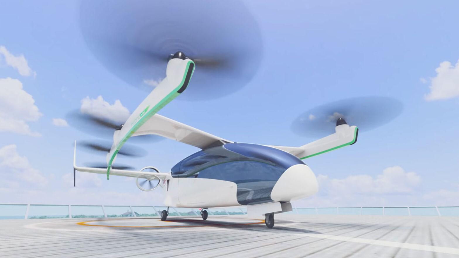 Honda Unveiled Concept eVTOL for new Mobility Ecosystem