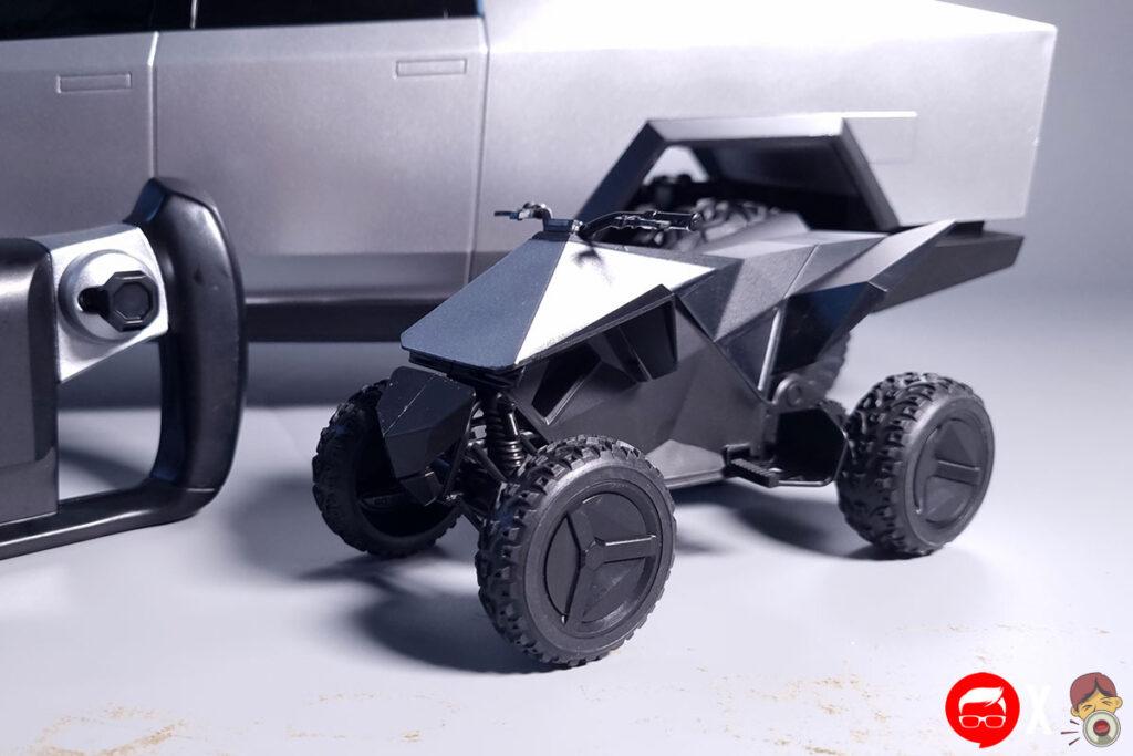 Hot Wheels Cybertruck 1:10 RC Truck Review