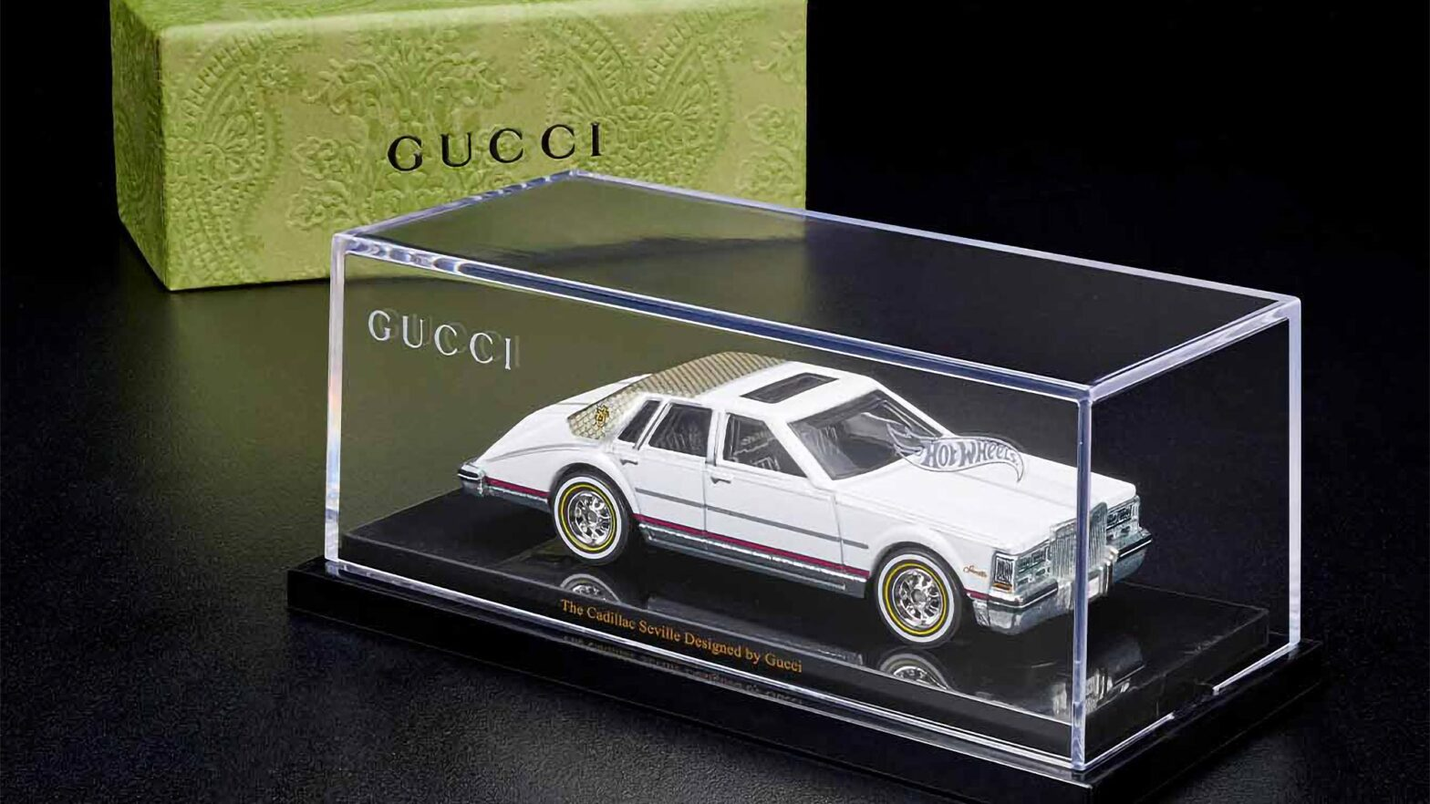 Hot Wheels The Cadillac Seville Designed by Gucci