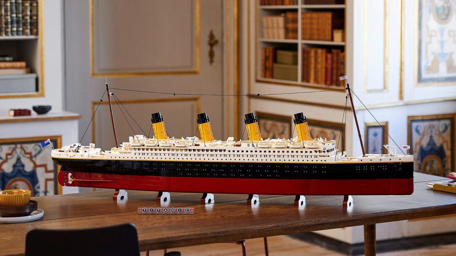 LEGO 10294 Titanic Building Set Revealed