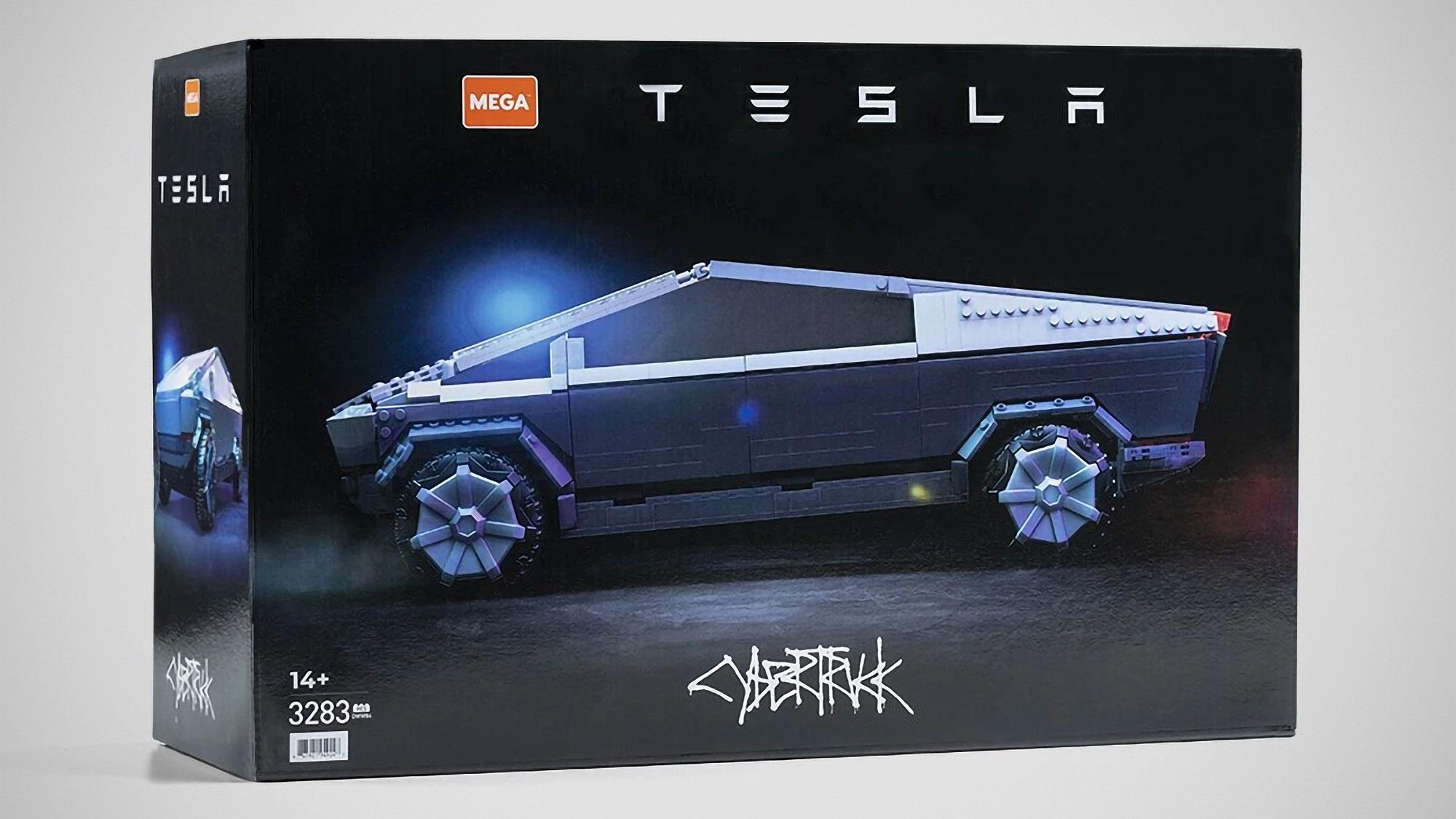 MEGA Construx Tesla Cybertruck Building Set