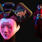 You Can Dress Up As The Robotic Geisha In <em>Ghost In The Shell</em> With This Custom Costume