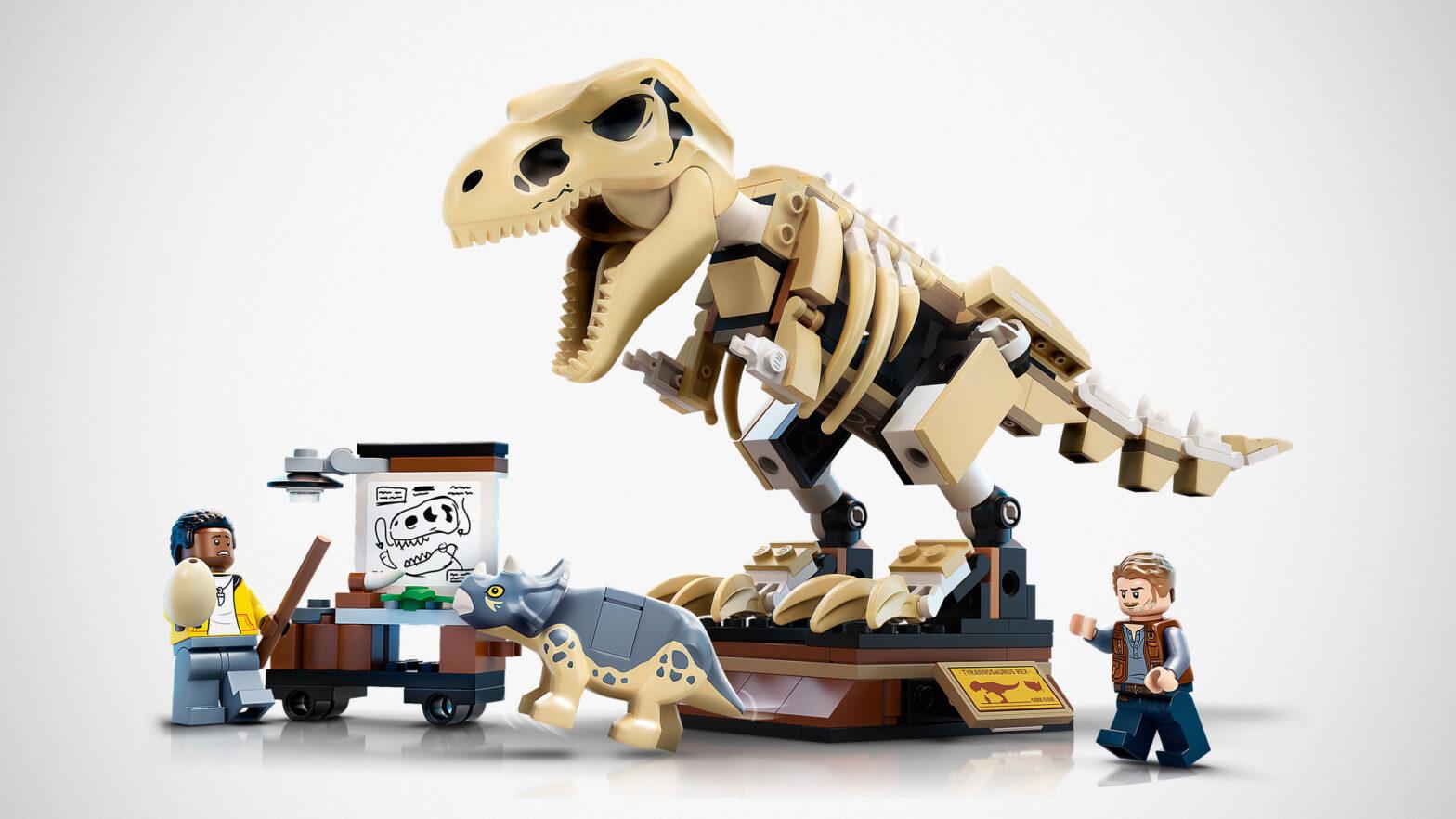 New 2021 LEGO Jurassic World Building Sets