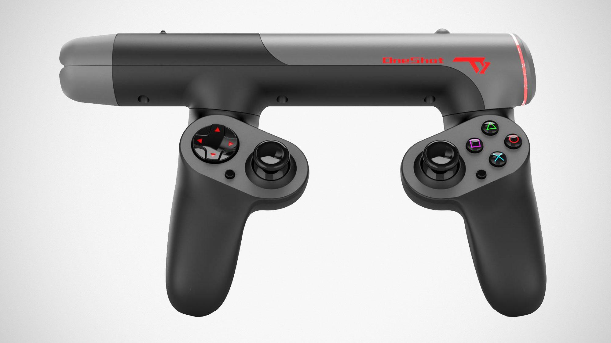 OneShot FPS Gun-shaped Controller Indiegogo