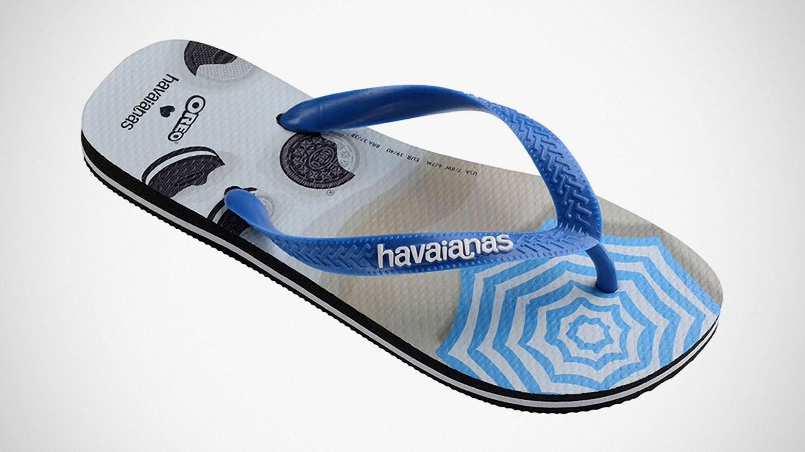 Oreo x Havaianas Top OREO-scented Flip Flops