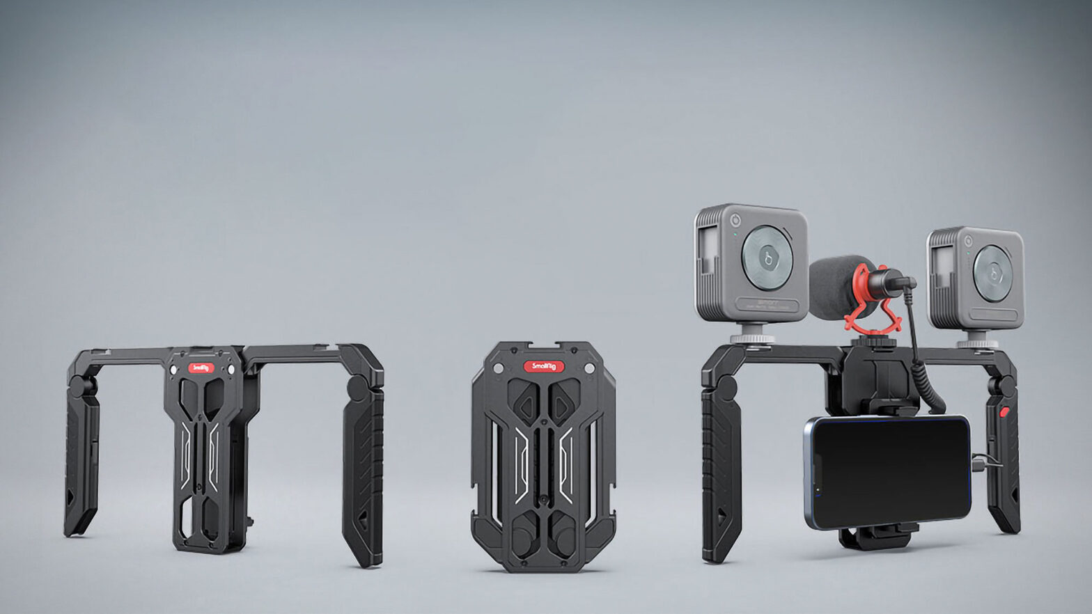 SmallRig Fold P10 Phone Cage for Videography