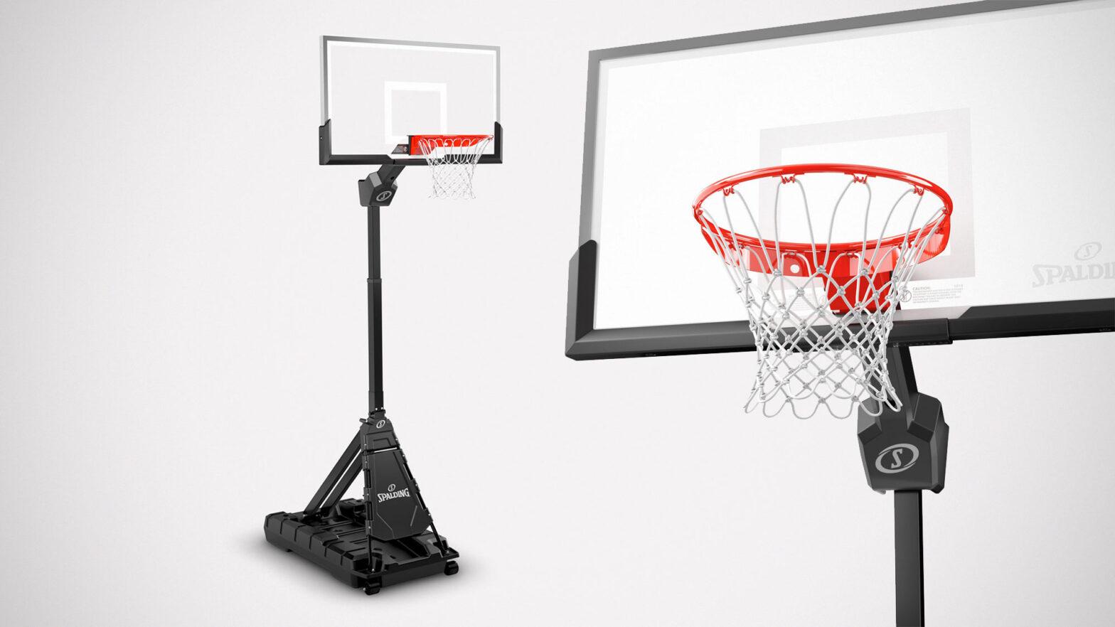 Spalding Momentous EZ Assembly Basketball Hoop