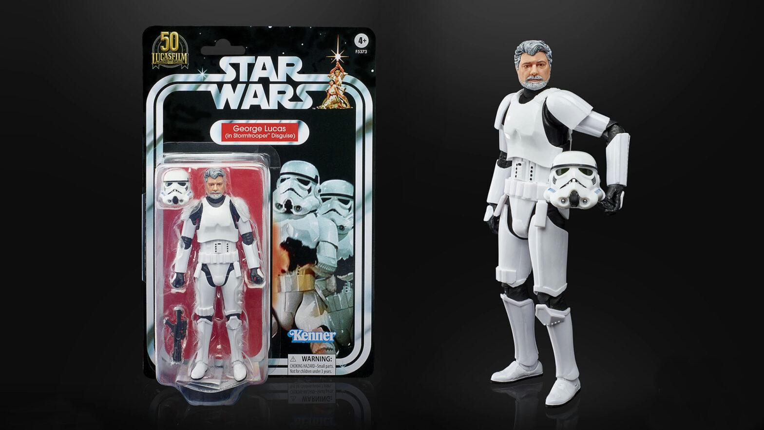 Star Wars The Black Series George Lucas (In Stormtrooper Disguise)