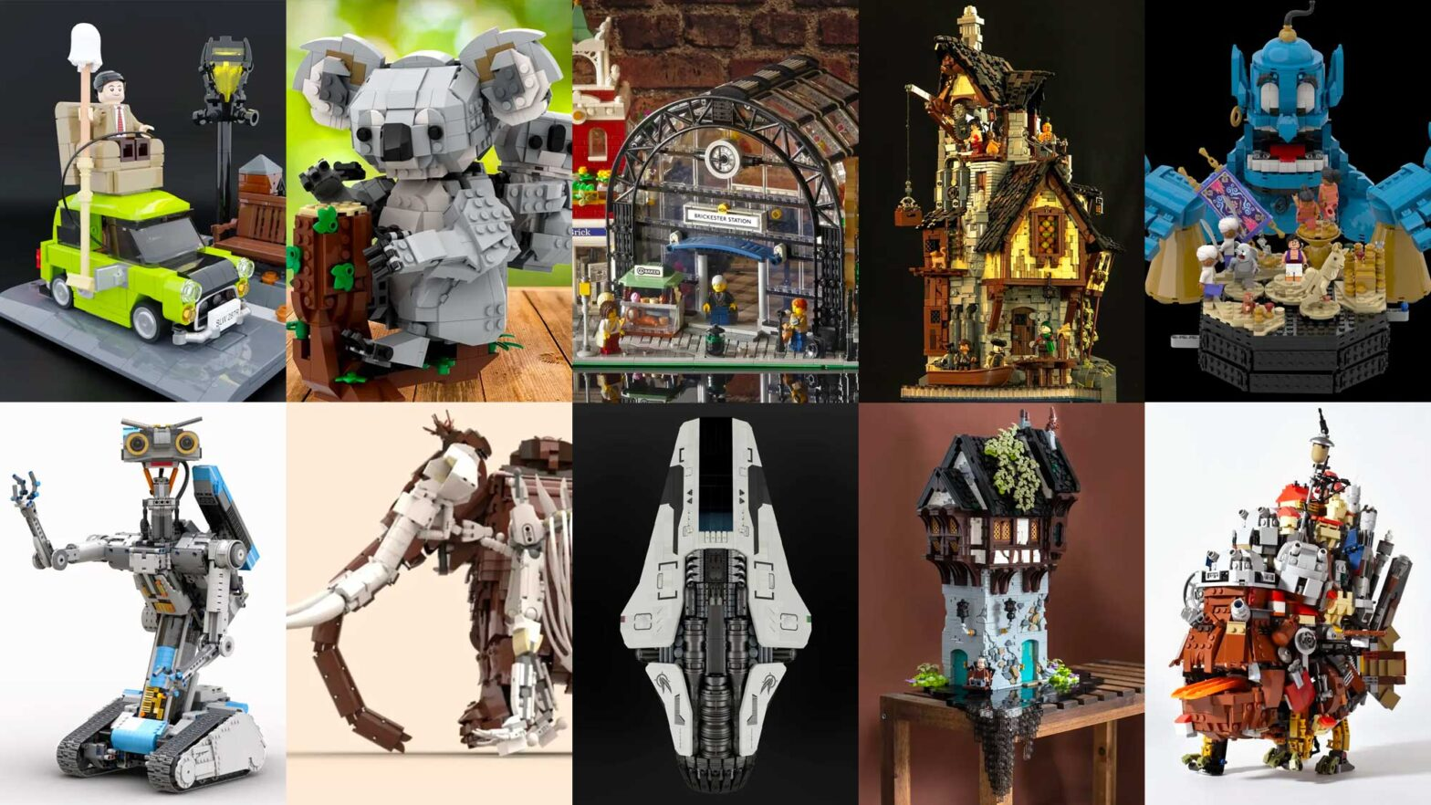 Ten Brilliant LEGO Ideas Submissions October