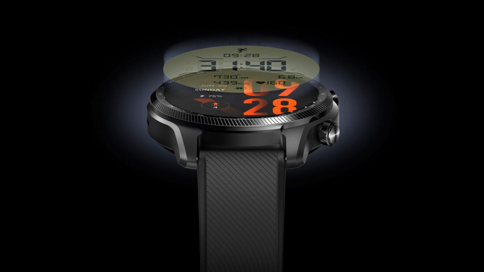 TicWatch Pro 3 Ultra GPS Smartwatch Announced
