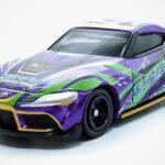 Tomica <em>Evangelion</em> Racing EVA RT Unit 1 GR Supra Die-cast Toy Car
