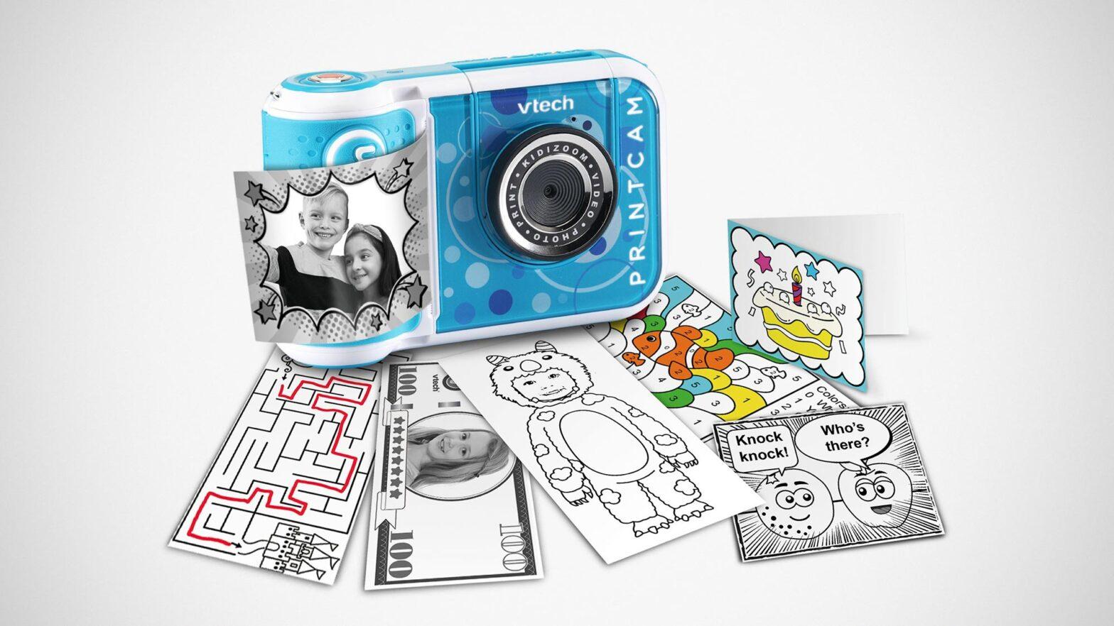 VTech KidiZoom PrintCam Instant Print Camera for Kids