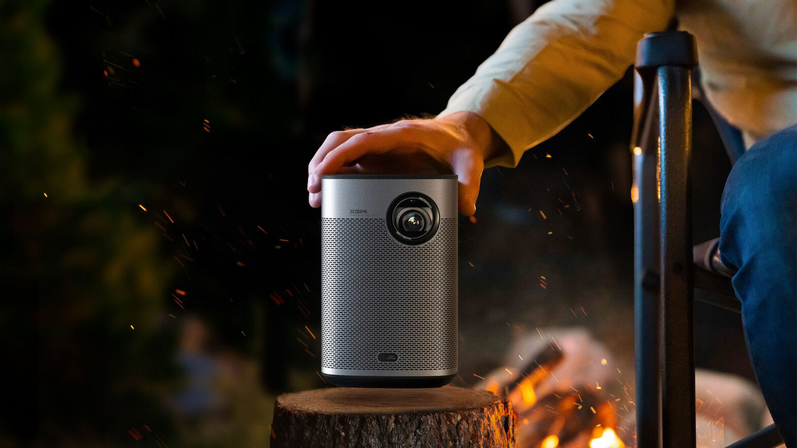 XGIMI Halo+ FHD Portable Projector